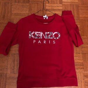 Red Kenzo sweater